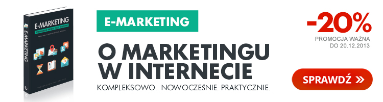 E-marketing ju� w sprzeda�y!