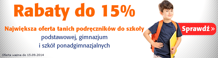 Podr�czniki szkolne do -15%