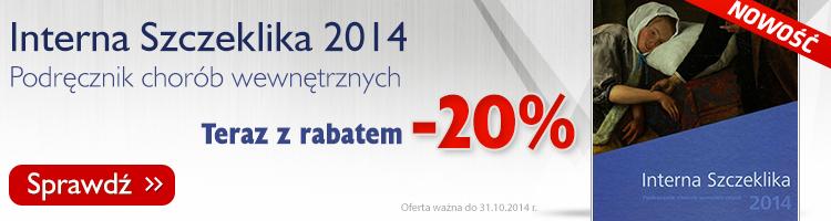 Interna Szczeklika - teraz z rabatem -20%