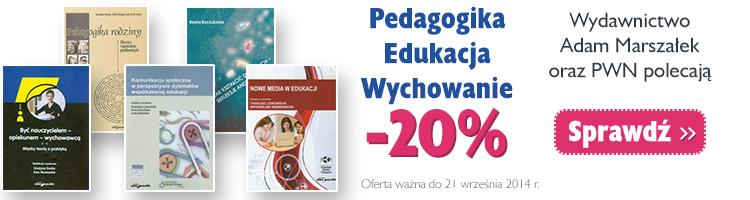 Pedagogika, edukacja, wychowanie -20%
