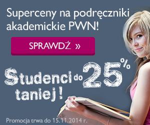 SUPERCENY na podr�czniki akademickie PWN -25%