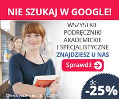 Podr�czniki akademickie i ksi��ki specjalistyczne do -25%