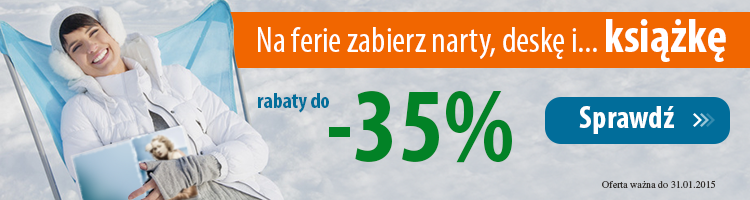 Ksi��ka na ferie do -35%