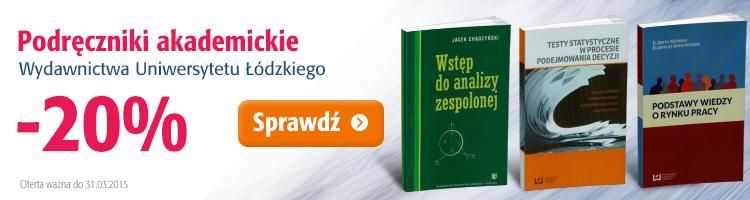 Wydawnictwo Uniwersytetu ��dzkiego -20%