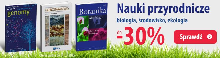 Nauki przyrodnicze do -30%