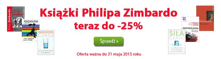 Ksi��ki Philipa Zimbardo teraz z rabatem do -25%