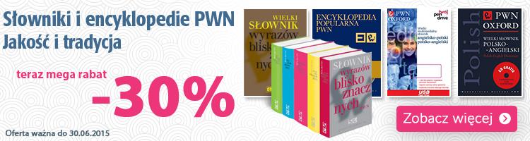 S�owniki i encyklopedie PWN do -25%