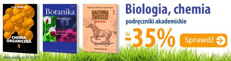 Chemia i biologia z rabatem do -35%
