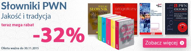 S?owniki i encyklopedie PWN -32%