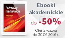 Ebooki akademickie do -50%