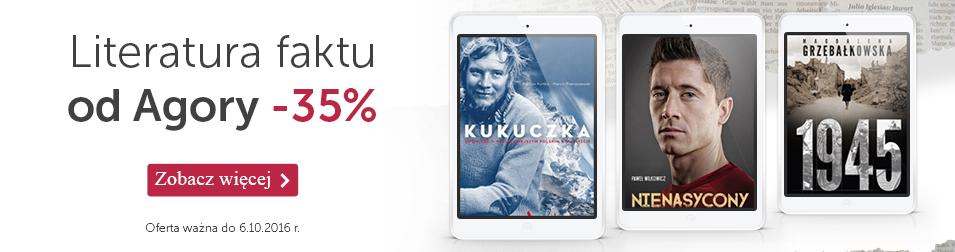 Literatura faktu od Agory -35%