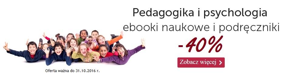 Pedagogika i psychologia -40%