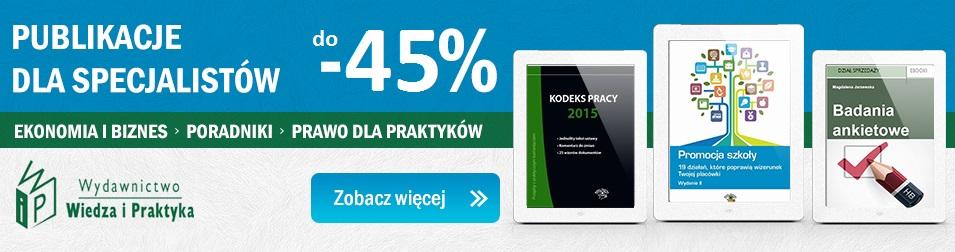 Wiedza i Praktyka do -45%