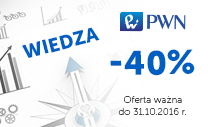 Ebooki naukowe PWN -40%