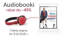 Audiobooki do -45%