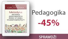 Pedagogika -45%