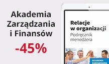 Akademia zarz?dzania i finans�w -45%